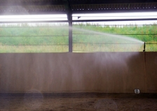 Watering a 40m x 30m indoor school