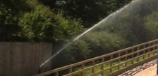 Watering a 40m x 20m outdoor menage