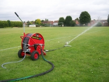 Kinzo LAWN SPRINKLER Pipe Field Pitch Grass Watering Extra Long Course Sports UK